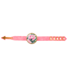 bracciale-the-circle-feltro-rosa