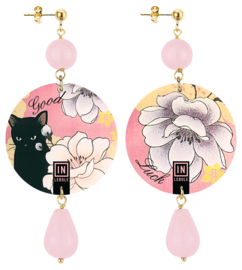 flower-with-black-cat-pink-stone